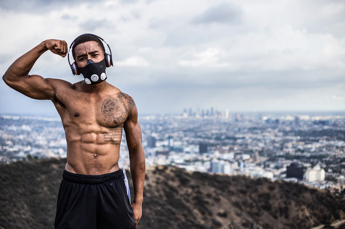 Kevin L. Walker at the top of Runyon Canyon