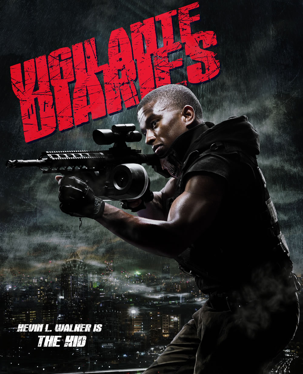Kevin L. Walker stars in Vigilante Diaries