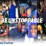 Kevin L. Walker and Donnbella Mortel in the Rio Olymics FORD Motors Commercial