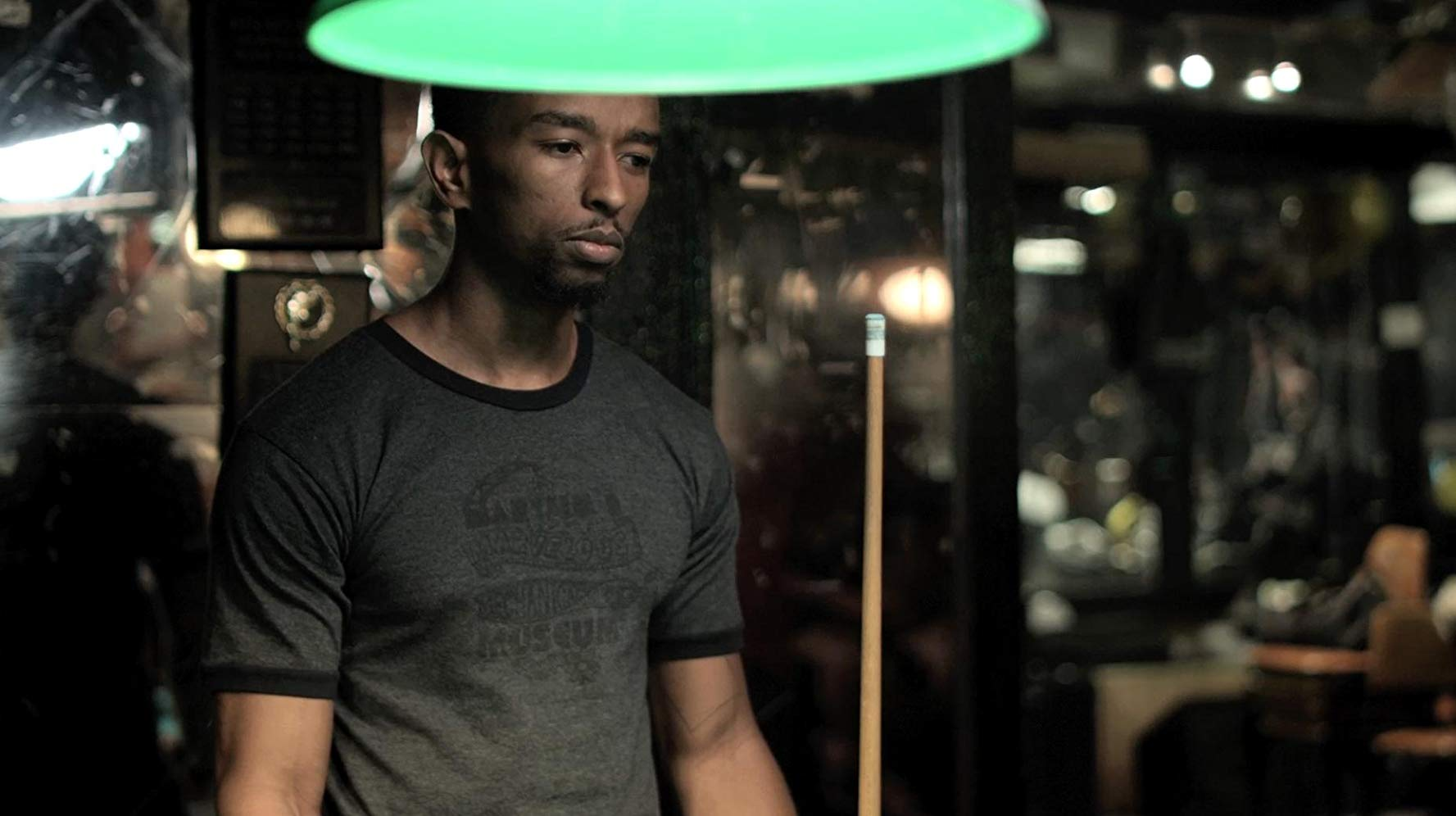 Kevin L. Walker in Pope Movie 'Pool Hall Scene'