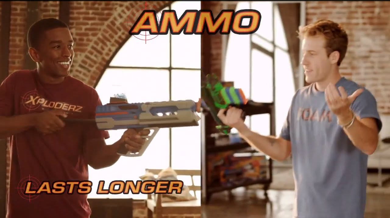 Kevin L. Walker - Xploderz vs Nerf National Commerical (2012)