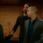 Kevin L. Walker, Kristoff St. John, Bryton James - The Young and The Restless