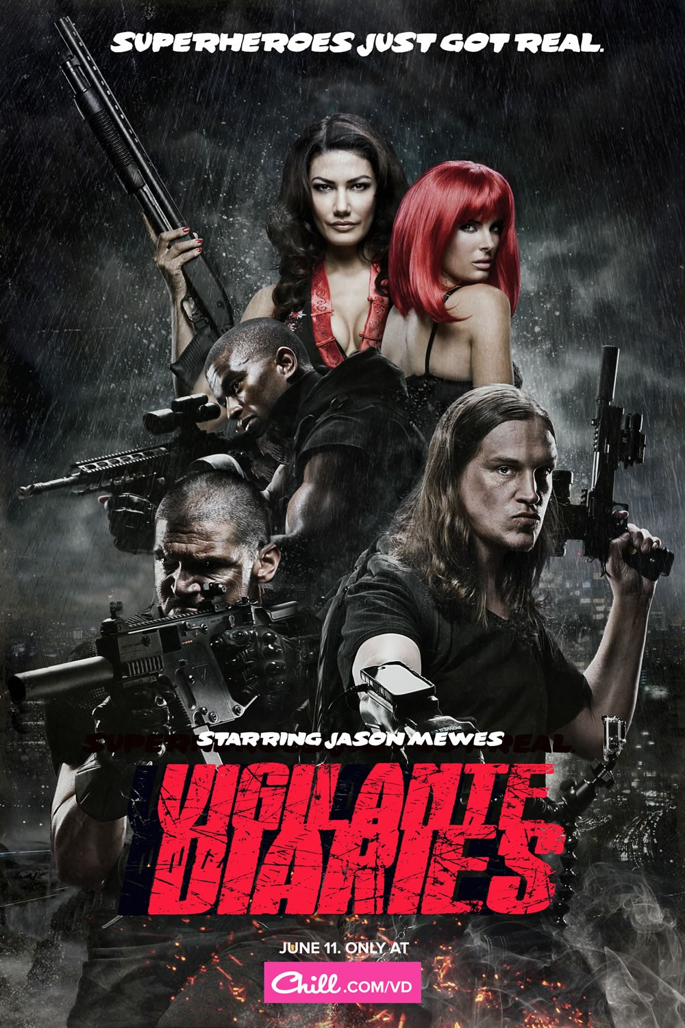 Vigilante Diaries: Kevin L. Walker, Jason Mewes, Paul Sloan