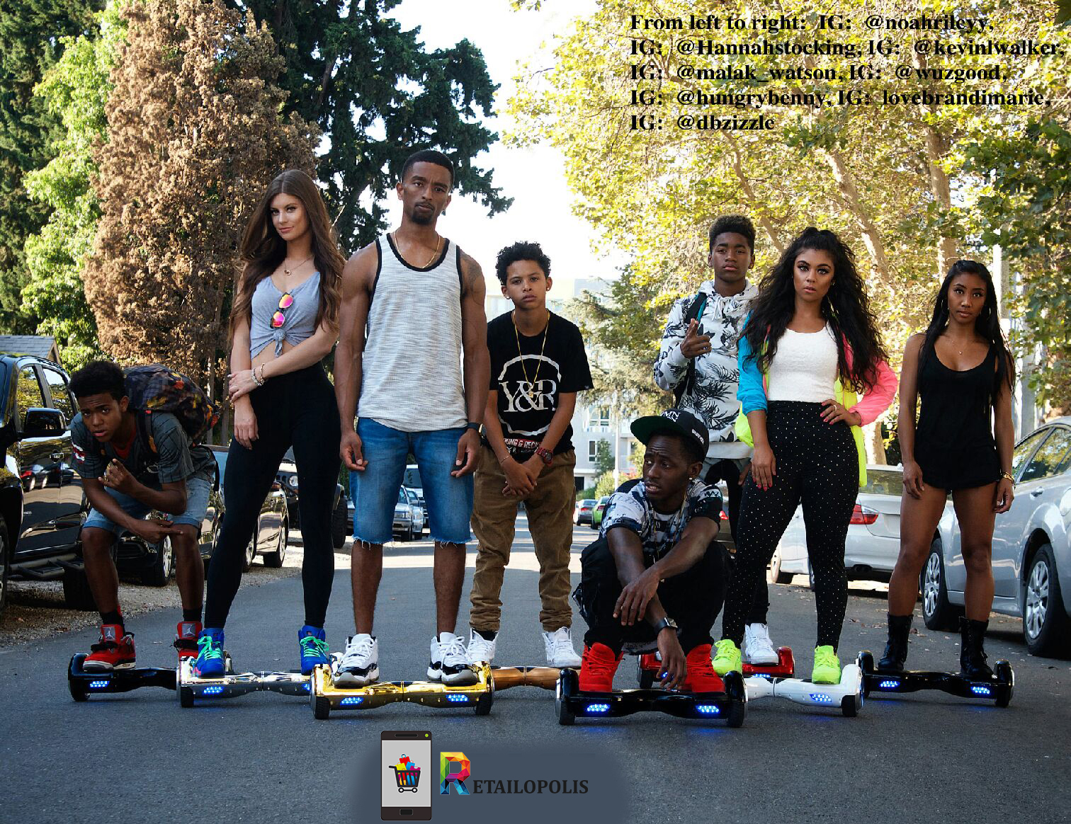 Kevin L Walker, Donnabella Mortel, Hannah Stocking, LoveBRandimarie, MalakWatson, and Wuzgood - Retailopolis (2015)