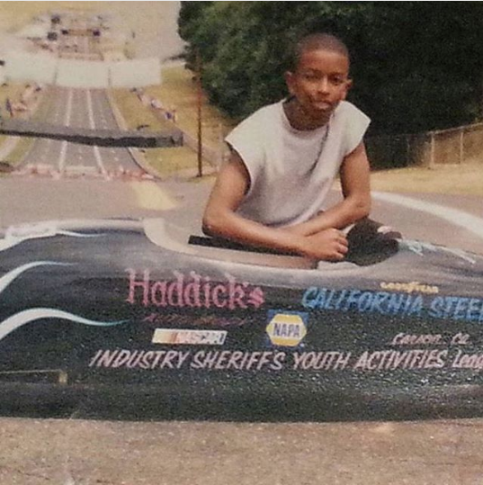 Kevin L. Walker - 2002 All American California Soap Box Derby Champion - National Akron Ohio Championship (2002) -