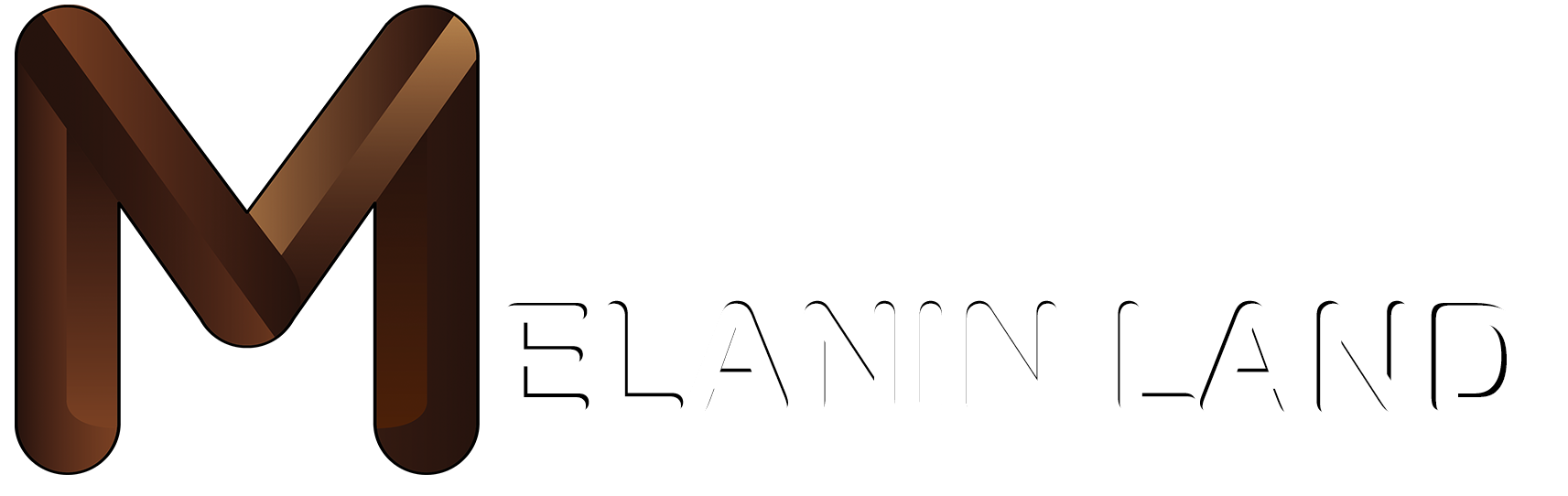 MELANIN LAND HEADER LOGO