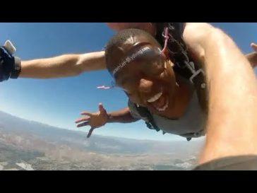 Kevin L. Walker & Donnabella Mortel go Skydiving (2014)